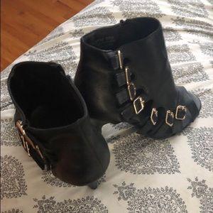 Black. Heels